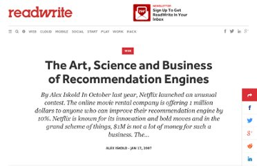 http://readwrite.com/2007/01/16/recommendation_engines