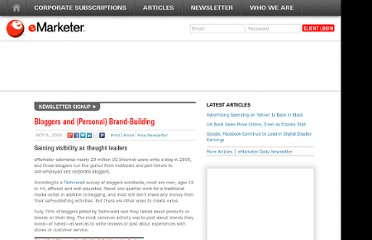 http://www.emarketer.com/Article/Bloggers-Personal-Brand-Building/1007366