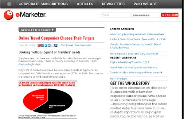 http://www.emarketer.com/Article/Online-Travel-Companies-Choose-Their-Targets/1006835