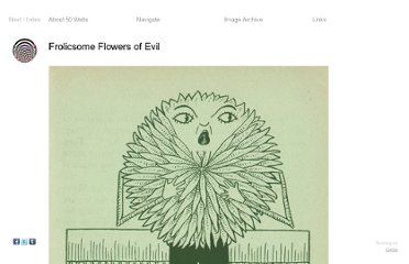 http://50watts.com/Frolicsome-Flowers-of-Evil