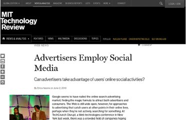 http://www.technologyreview.com/news/419190/advertisers-employ-social-media/