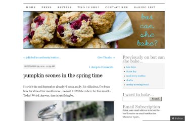 http://butcanshebake.com/2011/09/29/pumpkin-scones-in-the-spring-time/