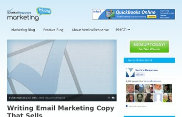 http://www.verticalresponse.com/blog/writing-copy-that-sells/