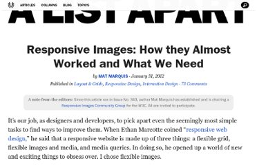http://alistapart.com/article/responsive-images-how-they-almost-worked-and-what-we-need
