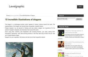 http://levelgraphic.com/2011/03/15-incredible-illustrations-of-dragons.html