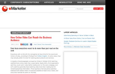 http://www.emarketer.com/Article/How-Online-Video-Reach-Business-Audience/1008146