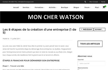 http://moncherwatson.wordpress.com/2011/07/11/les-8-etapes-de-la-creation-dune-entreprise-1-de-5/