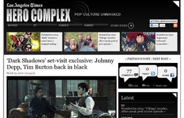 http://herocomplex.latimes.com/movies/dark-shadows-on-set-exclusive-johnny-depp-tim-burton-back-in-black/#/0