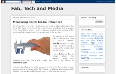 http://fabtechandmedia.blogspot.com/2011/09/measuring-social-media-influence.html