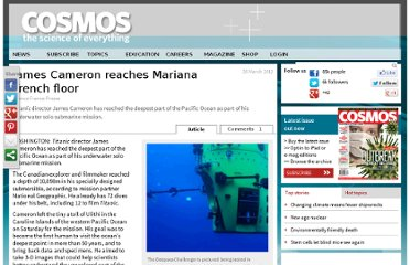 http://www.cosmosmagazine.com/news/james-cameron-reaches-mariana-trench-floor/