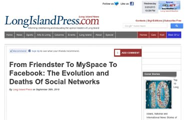 http://archive.longislandpress.com/2010/09/30/from-friendster-to-myspace-to-facebook-the-evolution-and-deaths-of-social-networks/