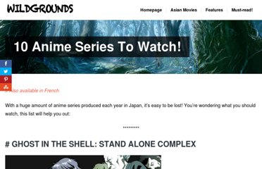 http://www.wildgrounds.com/2010/02/26/10-anime-series-to-watch/