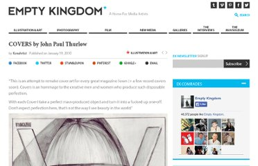 http://www.emptykingdom.com/featured/covers-by-john-paul-thurlow/