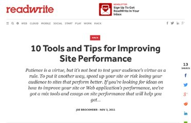 http://readwrite.com/2011/11/03/10-tools-and-tips-for-improvin