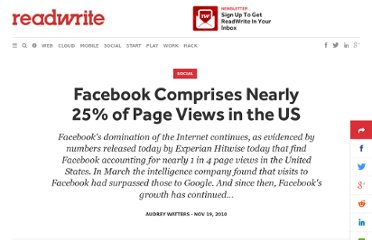 http://readwrite.com/2010/11/19/facebook_comprises_nearly_25_of_us_page_views