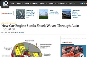 http://news.discovery.com/tech/alternative-power-sources/new-car-engine-sends-shockwaves-through-auto-industry-110405.htm