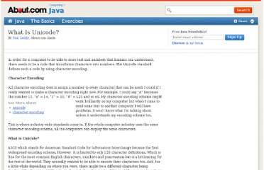 http://java.about.com/od/programmingconcepts/a/unicode.htm