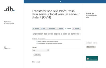 http://www.david-bost.fr/2013/02/transferer-son-site-wordpress-d-un-serveur-local-vers-un-serveur-distant-ovh/