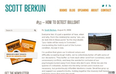 http://scottberkun.com/essays/53-how-to-detect-bullshit/