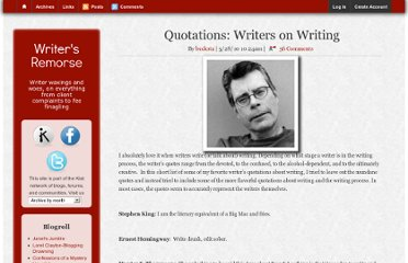 http://writersremorse.com/article/quotations-writers-writing