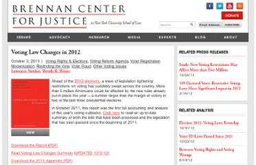 http://www.brennancenter.org/publication/voting-law-changes-2012