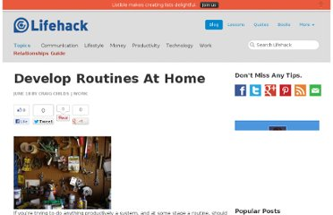 http://www.lifehack.org/articles/work/develop-routines-at-home.html