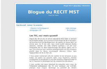 http://recit.org/index.php/les_tic_oui_mais_quand?blog=7