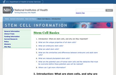 http://stemcells.nih.gov/info/basics/pages/basics1.aspx