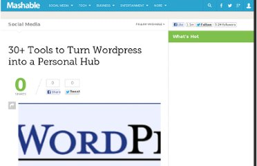 http://mashable.com/2007/08/08/wordpress-hub/