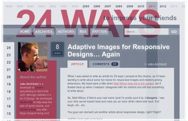 http://24ways.org/2011/adaptive-images-for-responsive-designs-again/