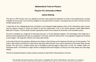 http://www.physics.miami.edu/~nearing/mathmethods/