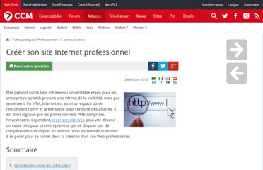http://www.commentcamarche.net/faq/9727-creer-son-site-internet-professionnel