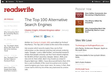 http://readwrite.com/2007/01/28/top_100_alternative_search_engines
