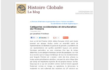 http://blogs.histoireglobale.com/categories-occidentales-et-structuration-de-lhistoire_1101