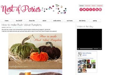 http://www.nestofposies-blog.com/2011/10/how-to-make-plush-velvet-pumpkins/