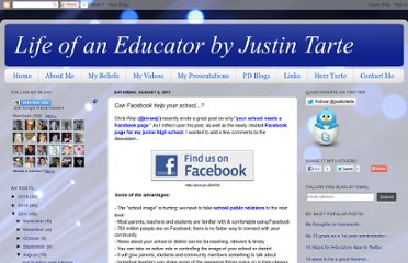 http://www.justintarte.com/2011/08/can-facebook-help-your-school.html