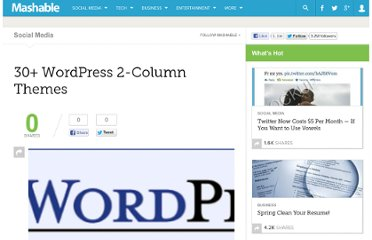 http://mashable.com/2007/08/09/wordpress-2-column/