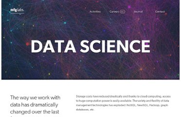 http://mfglabs.com/data-science/