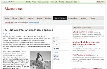 http://www.mexconnect.com/articles/1924-the-tarahumaras-an-endangered-ppecies