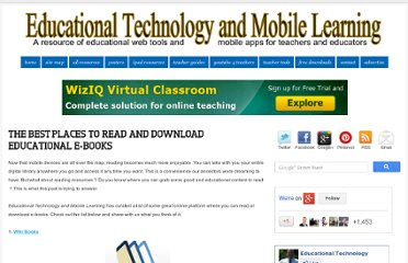 http://www.educatorstechnology.com/2013/02/the-best-places-to-read-and-download.html