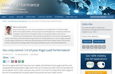 http://apmblog.compuware.com/2011/11/08/you-only-control-one-thrid-of-your-page-load-performance/