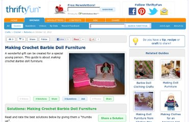 http://www.thriftyfun.com/Making-Crochet-Barbie-Doll-Furniture.html