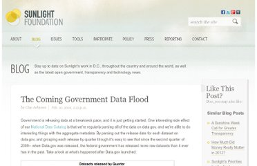 http://sunlightfoundation.com/blog/2010/02/10/coming-data-flood/