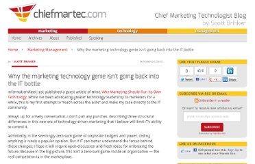 http://chiefmartec.com/2010/10/why-the-marketing-technology-genie-isnt-going-back-into-the-it-bottle/