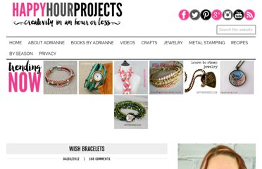 http://happyhourprojects.com/wish-bracelets/