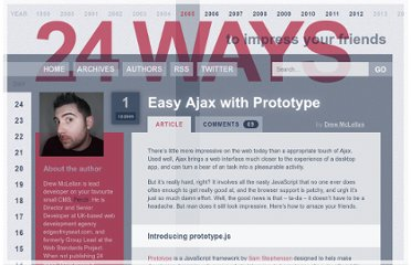 http://24ways.org/2005/easy-ajax-with-prototype/