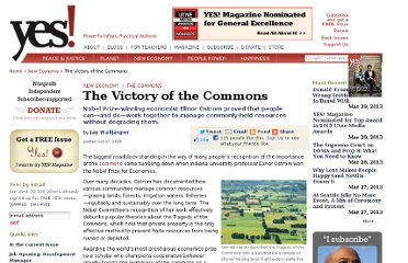 http://www.yesmagazine.org/new-economy/the-victory-of-the-commons/