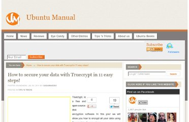 http://www.ubuntumanual.org/posts/364/secure-your-data-with-truecrypt-in-11-easy-steps