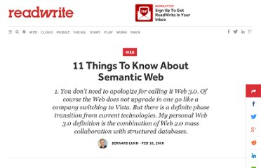 http://readwrite.com/2008/02/15/semantic_web_11_things_to_know