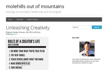 http://www.jeffdelp.com/2012/02/12/unleashing-creativity/